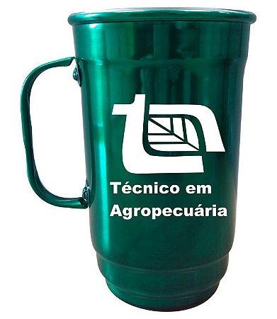 Caneca 101-S 750ml Verde Verniz