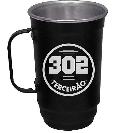 Caneca 101-D 400ml Preto Fosco