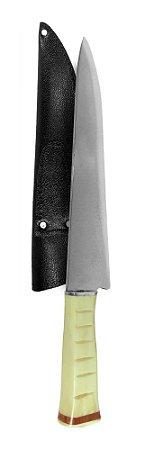 Faca Aço Carbono Escovado Exclusive BCL 38cm   -