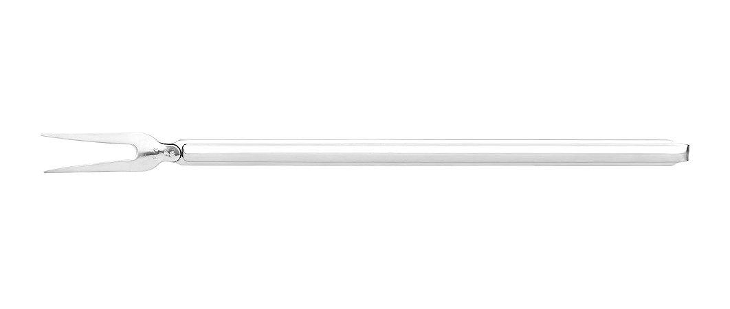 Garfo Inox para Assados - Pendurar cabo 40 cm