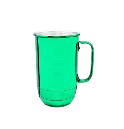 Caneca Alumínio Imperial 900 ml Verde Verniz