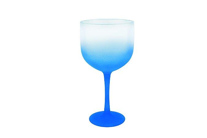 Taça Gin PS 600 ml Degradê Tr/Azul