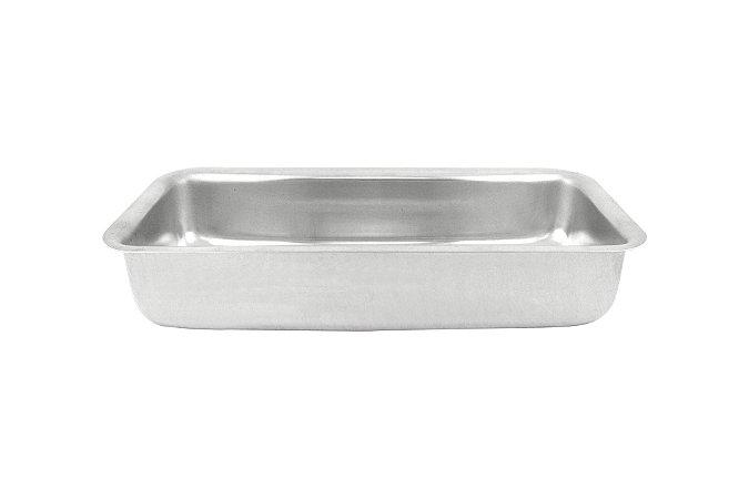 Forma Alumínio para Pão nº 02 med.24x10x4,5cm -
