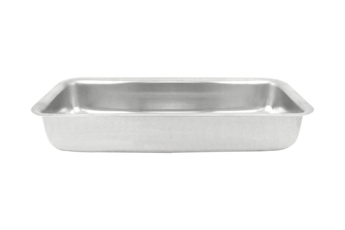 Forma Alumínio para Pão nº 03 med.28x11x4,5cm -