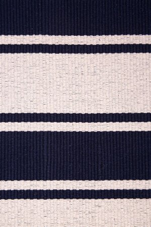 Tapete TPAL Duplo FB006 Fio Brasil - Azul Marinho/Cru