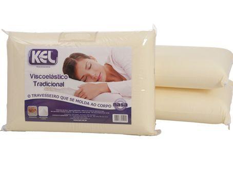 Travesseiro Viscoelástico Tradicional