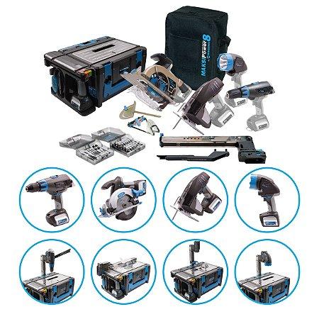 Maksipower 8 Multi Função 8 Em 1 Blue Edition – MP/8