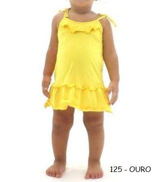Vestido Babado Bebê