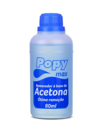 Removedor a Base de Acetona Farmax Popy Max 80 Ml