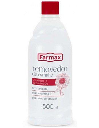 Removedor Sem Acetona Farmax 500ml