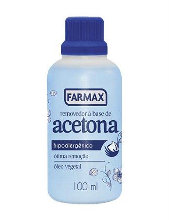 Removedor de Acetona Farmax 100ml
