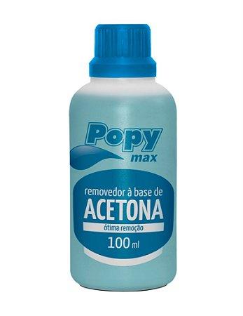 Removedor de Acetona Popy Max 100ml