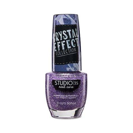 Esmalte Studio 35 Crystal Effect #feiticoparaocrush