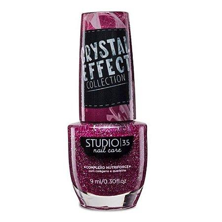 Esmalte Studio 35 Crystal Effect #lindoquedoi