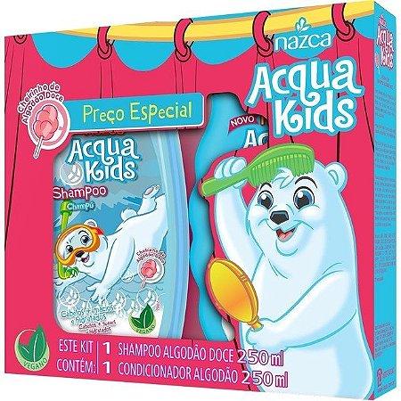 Aqua Kids Kit Sh+Co 250ml Algodao Doce