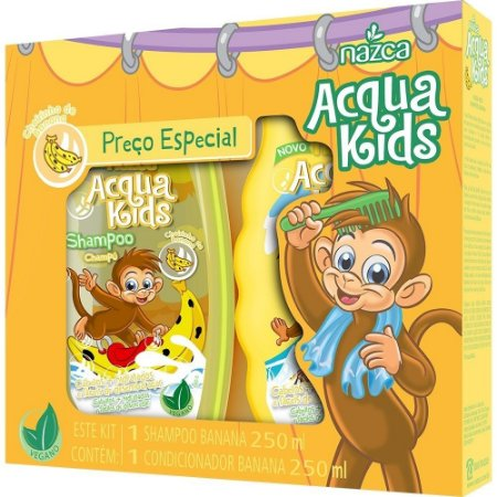 Aqua Kids Kit Sh+Co 250ml Banana