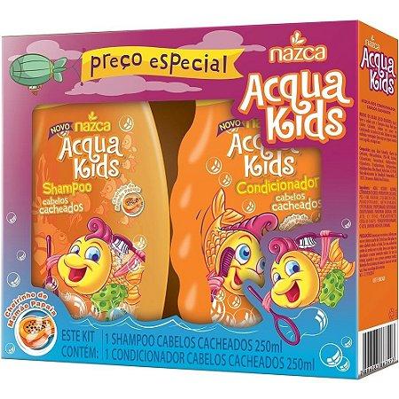 Aqua Kids Kit Sh+Co 250ml Cacheados