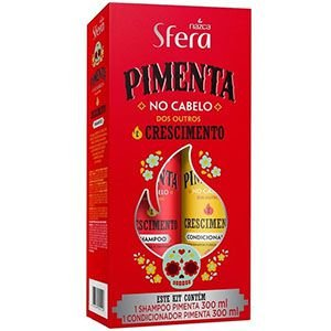 Kit Sfera Pimenta (SH 300ml + Condi 300ml)