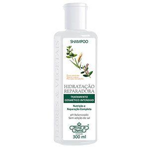 Shampoo Flores e Vegetais Hidratação Reparadora 310ml