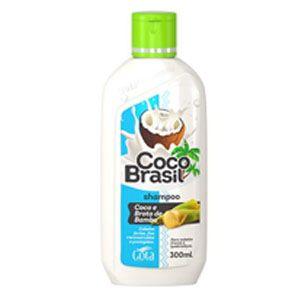 Shampoo Gota Dourada Coco Brasil Broto de Bambu 300ml