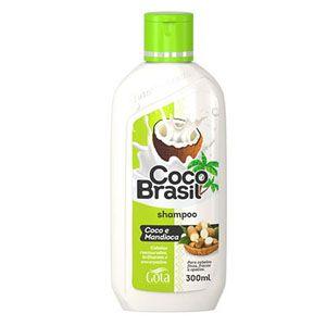 Shampoo Gota Dourada Coco Brasil Mandioca 300ml