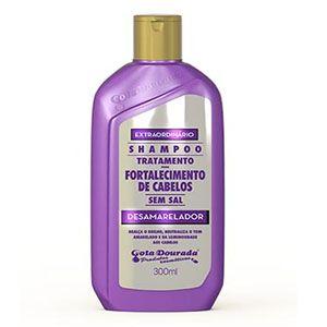 Shampoo Gota Dourada Fortalecimento Desamarelador 430ml