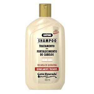 Shampoo Gota Dourada Fortalecimento Quimicamente 430ml