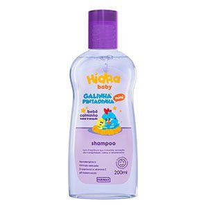 Shampoo Galinha Pintadinha Bebe Calminho Lavanda 200ml