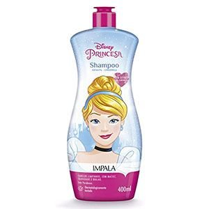 Shampoo Impala Disney 2x1 Cinderela 400ml