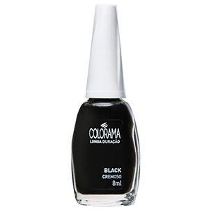 Esmalte Colorama Black