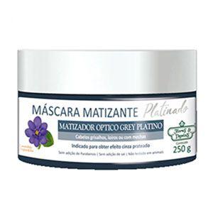 Mascara Flores e Vegetais Matizante Platinado 250g