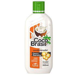 Condicionador Gota Dourada Coco Brasil Queratina 300ml