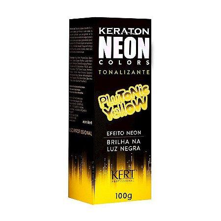 Tonalizante Keraton Neon Colors Plutonic Yellow 100g