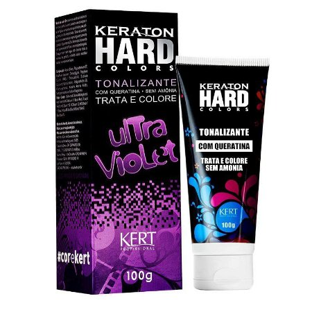 Tonalizante Keraton Hard Ultra Violet 100g