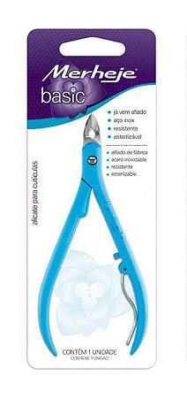 Alicate Cuticulas Merheje Basic Azul