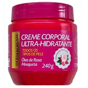 Creme Corporal Ultra Hidratante Rosa Mosqueta 240g