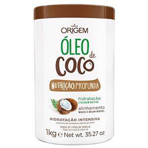 Origem Creme de Hidratação Intensiva Óleo de Coco Max 1kg