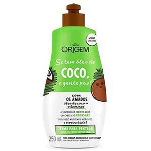 Origem Creme para Pentear Se tem Coco a gente Pira 250ml