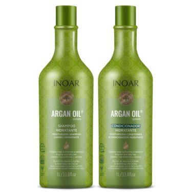 Argan Kit Sh+Co Hidratante 1 Litro
