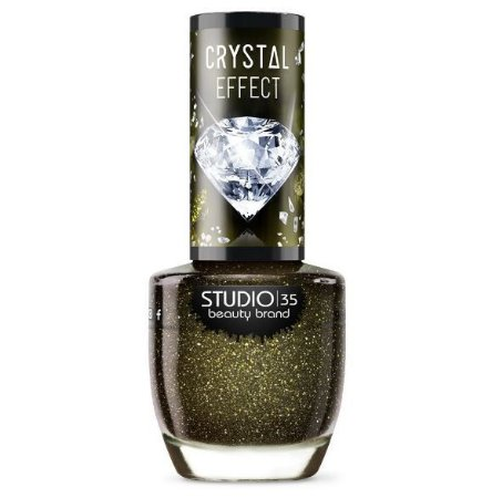 Esmalte Studio 35 Crystal Effectt III DiamenteNegro