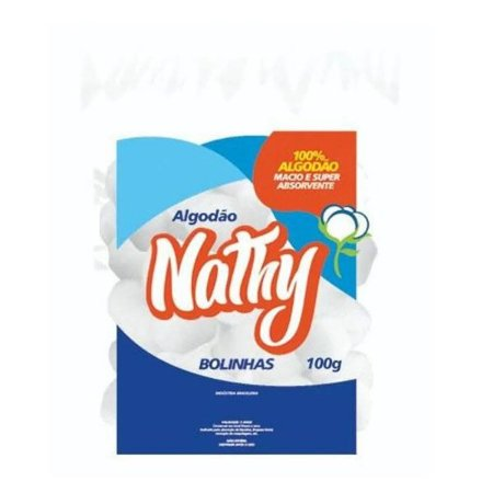 Algodão Nathy Bola 100g