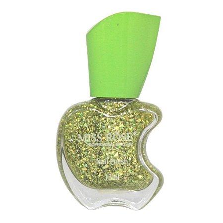 Esmalte Miss Rose 13ml - Glitter N 102
