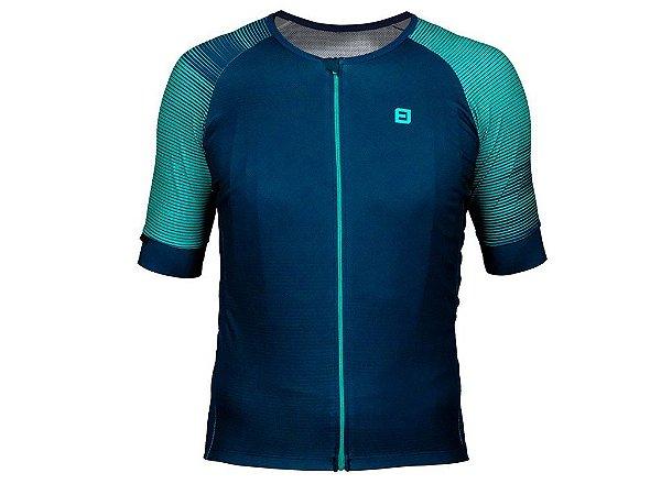 Camisa Furbo Unissex Belize Azul e Verde