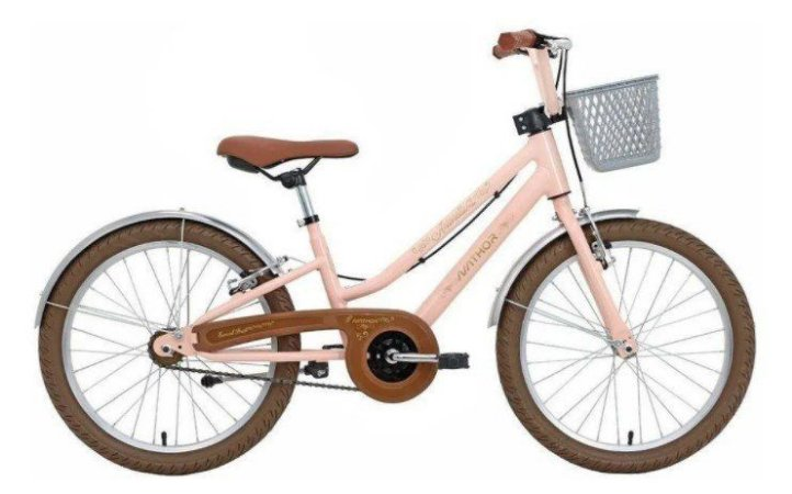 Bicicleta Aro 20 Nathor Antonella Teen Rosa