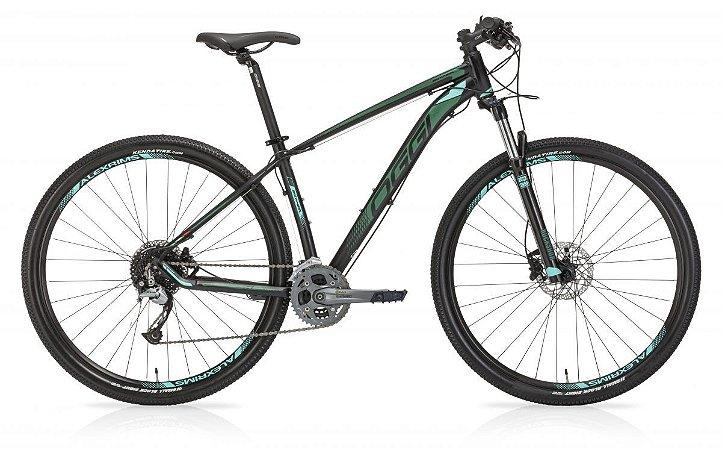 Bicicleta Aro 29 Oggi Big Wheel 7.1 (2019) Preto/2Verde