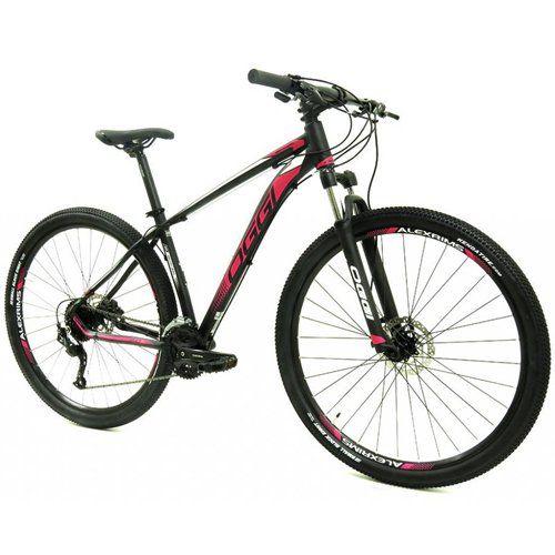 Bicicleta Aro 29 Oggi Big Wheel 7.0 Prt/Verm/Branco
