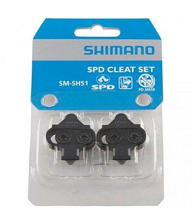 Taquinho Pedal Shimano MTB Sh51