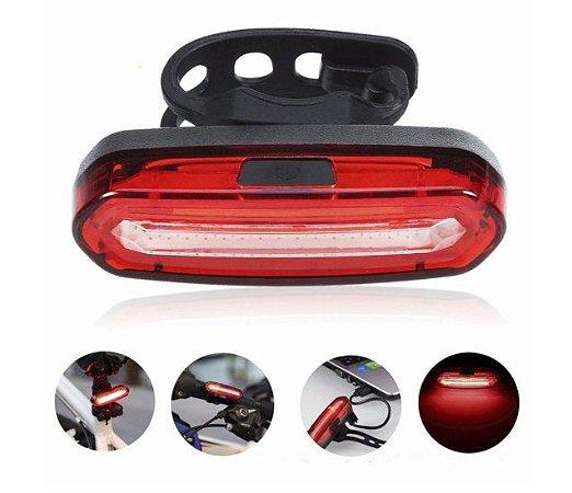 Sinalizador Traseiro USB FireTop H-1499