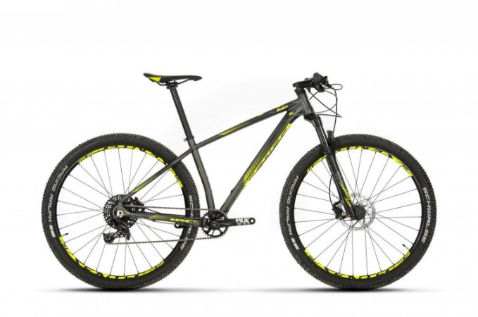 Bicicleta Aro 29 Sense Impact SL (2019) Cinza/Amarela
