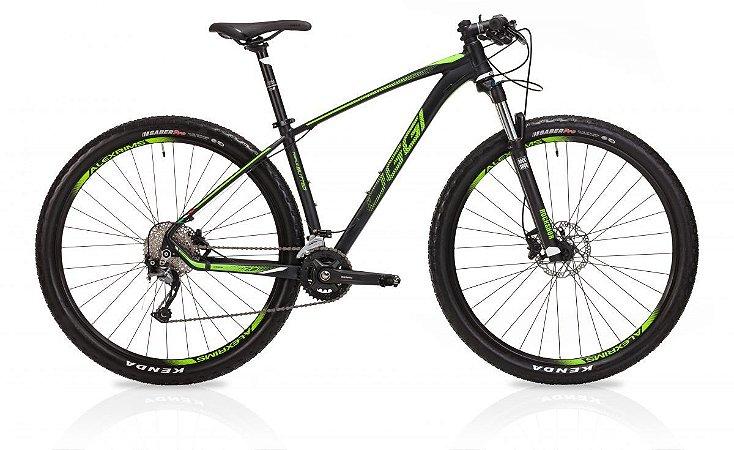 Bicicleta Aro 29 Oggi Big Wheel 7.2 18V Pto/Vd/Br